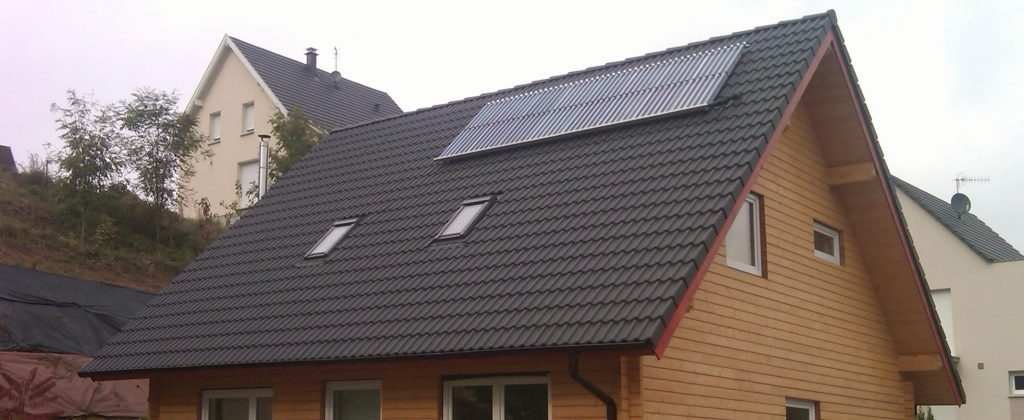 Referenz RIHM-Solar & Gebäudetechnik: Thermische Solaranlage