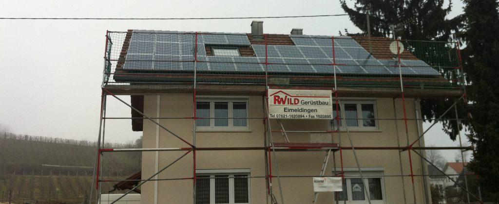 Referenz in Huttingen: RIHM-Solar & Gebäudetechnik