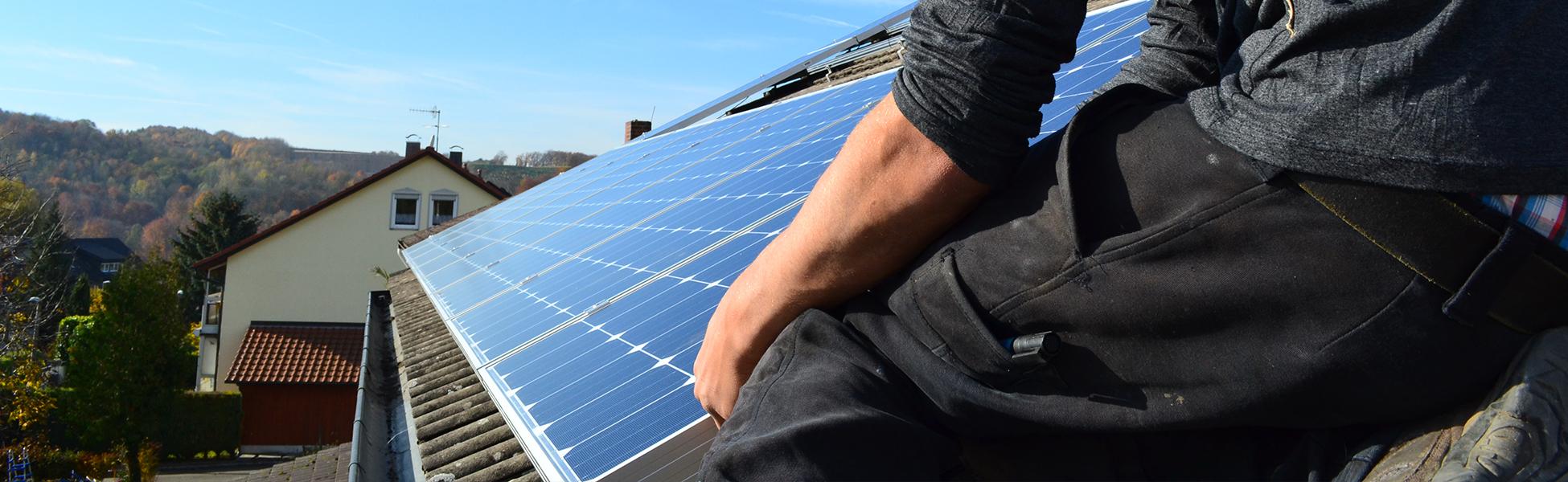 Montagearbeiten RIHM-Solar & Gebäudetechnik
