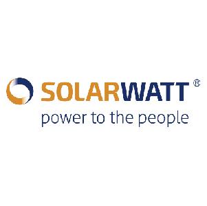 Logo SOLARWATT, Partner von RIHM Solar